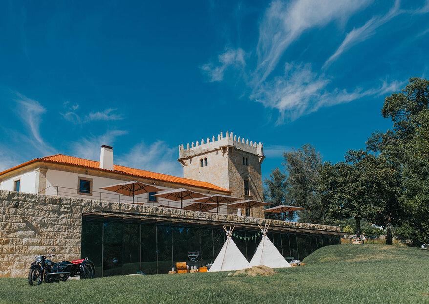 Torre de Gomariz Wine & Spa Hotel: serviço de topo, num ambiente sofisticado e carregado de história