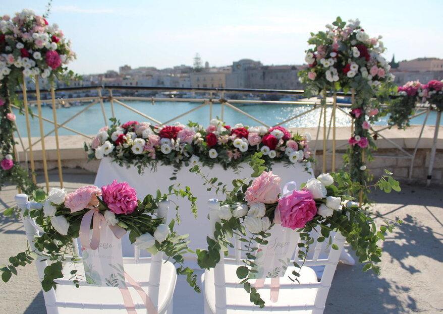 Pensieri Fioriti, pensieri d'amore: scopri le novità floreali per le tue nozze
