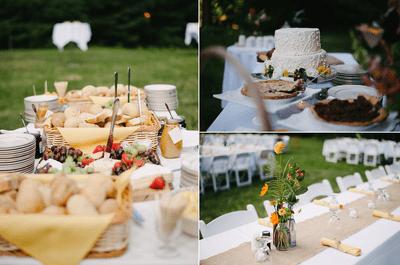 3 ideas para tener un banquete de boda económico