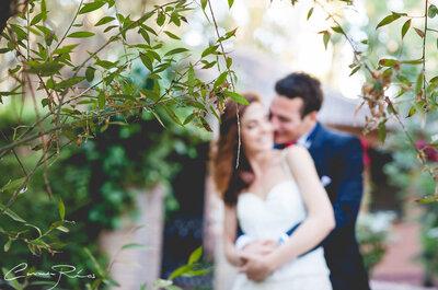 Magia desde el primer día: la boda de Paula y Ludo