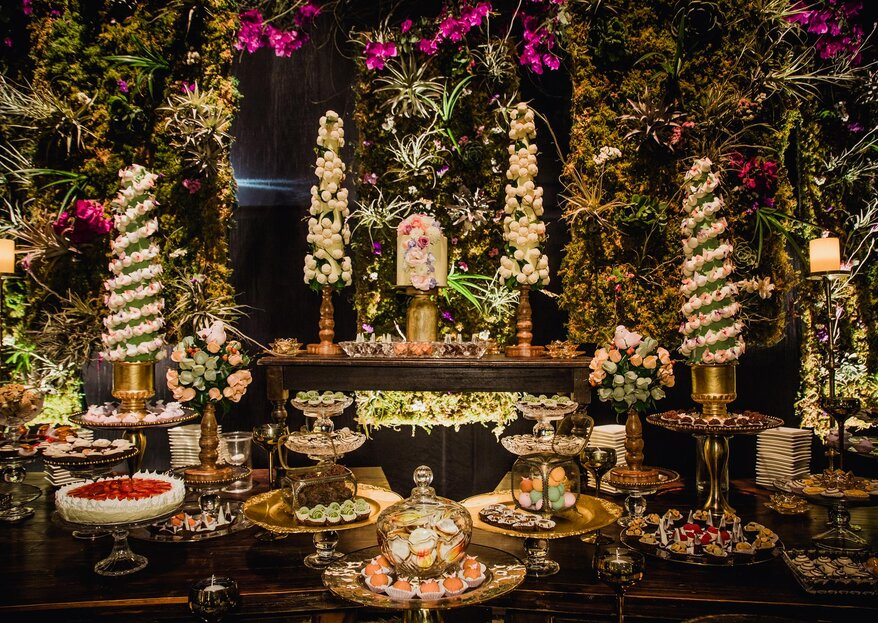 Una exquisita propuesta culinaria para tu boda de la mano de Silvana Paz Diseño y Producción de Eventos