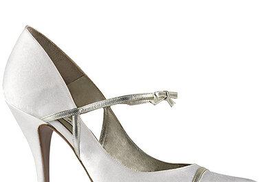 Zapatos de novia Pura López 2013