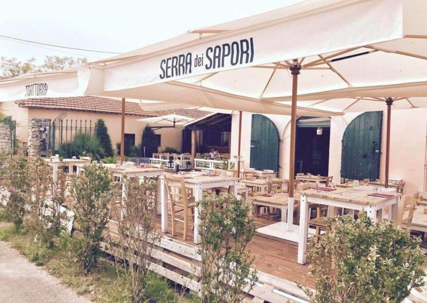 Serra dei Sapori: quando l'arte culinaria si abbina perfettamente al giorno delle nozze