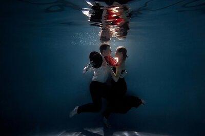 Подводное Love story: новые эмоции и оригинальные фотографии!