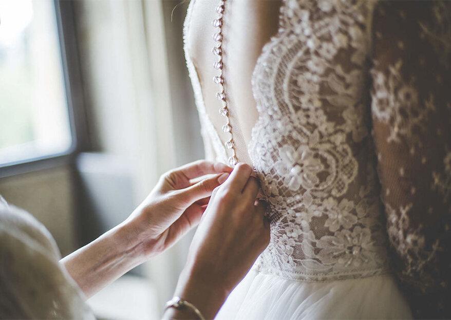 3431ebf36 Passo a passo: as seis coisas que tem de fazer antes de vestir o seu vestido  de noiva!