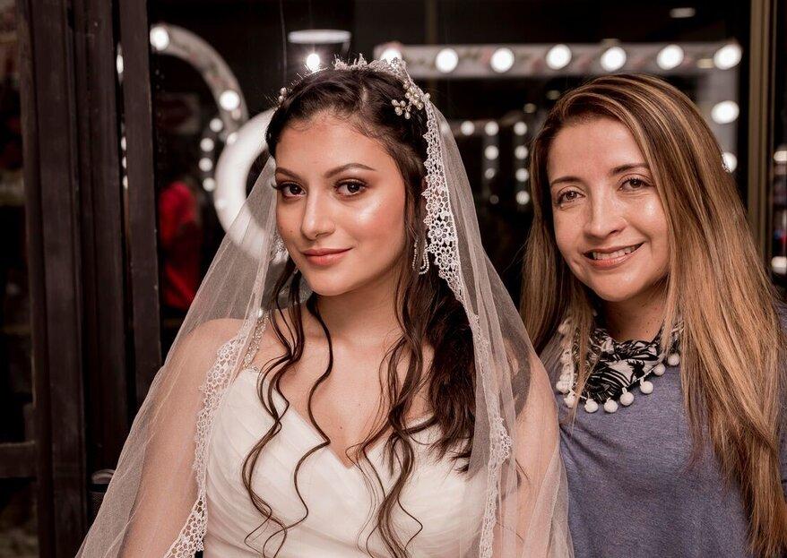 Vicky Dorado y la obra de arte que es el maquillaje de novia