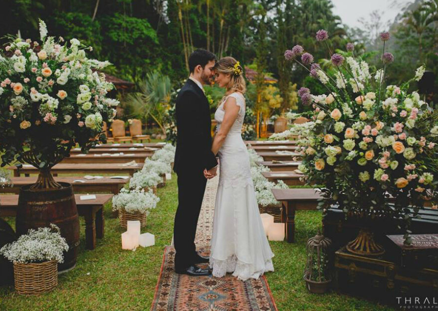 A concretização da utopia de todos os noivos: a lista de profissionais que não pode dispensar!