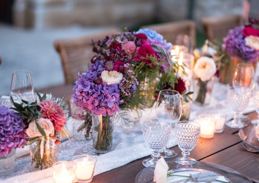 Il matrimonio dell'anno grazie alle decorazioni floreali di questi professionisti