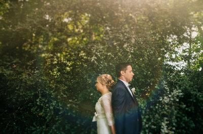 Célia et Fabien : Un splendide mariage rétro dans un impressionnant château près de Nancy