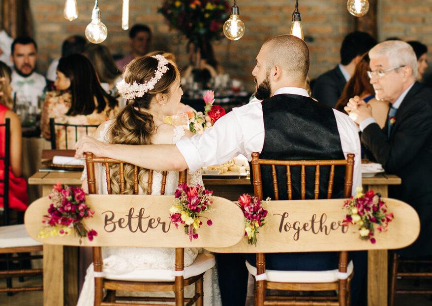 Casamento boho chic de Maíra e Gabriel: a relação virtual que se tornou um casamento real!