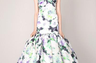 Marchesa: encantadores vestidos de fiesta colección Crucero 2014