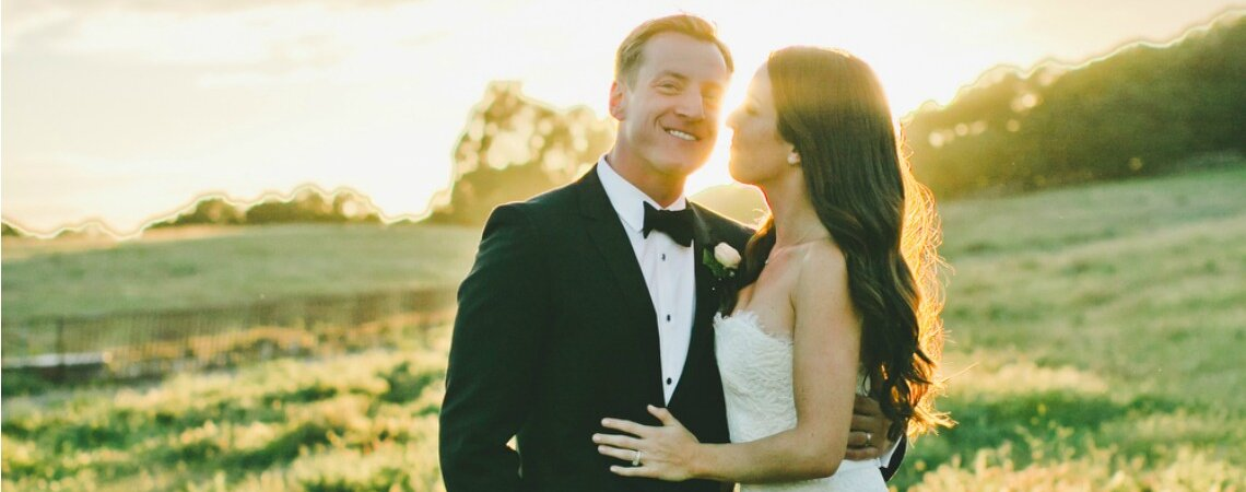 All in a Golden Afternoon: Emma + Dan's Real Wedding California