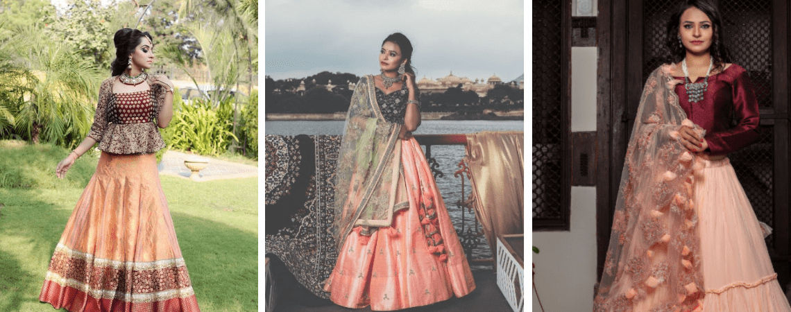 10 Sophisticated Tonal Shaded Mehendi Outfits For The Minimal Bride!