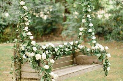 Eine Schaukel für die Hochzeit