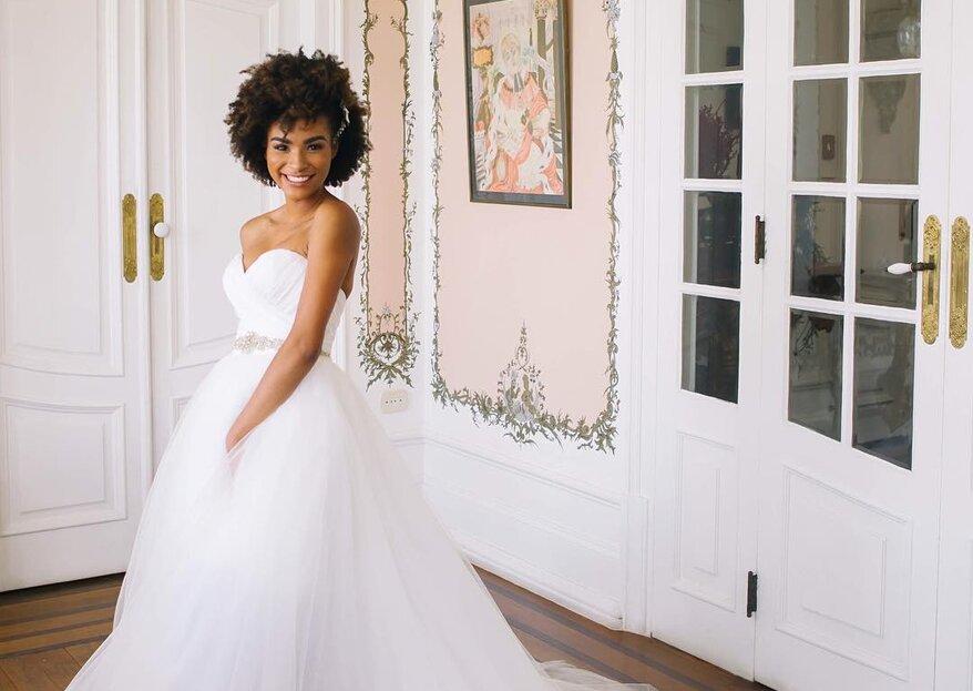 3cc7332b1b Conheça as características do vestido de noiva perfeito para 2018!