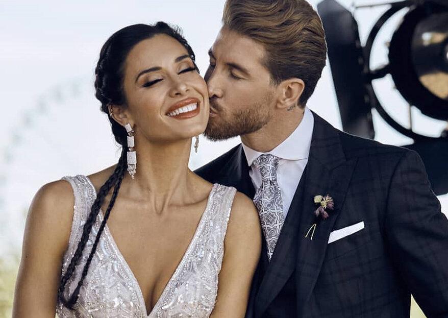 Reveladas fotos do casamento de Sérgio Ramos & Pilar Rubio