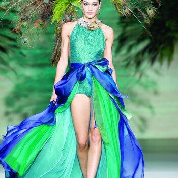 Vestidos de fiesta para invitadas de Francis Montesinos Otoño/Invierno 2014