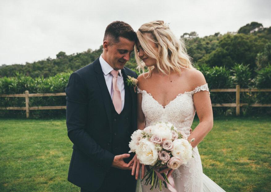 Una boda inglesa en la Costa Brava: el 'día B' de Megan y Luke