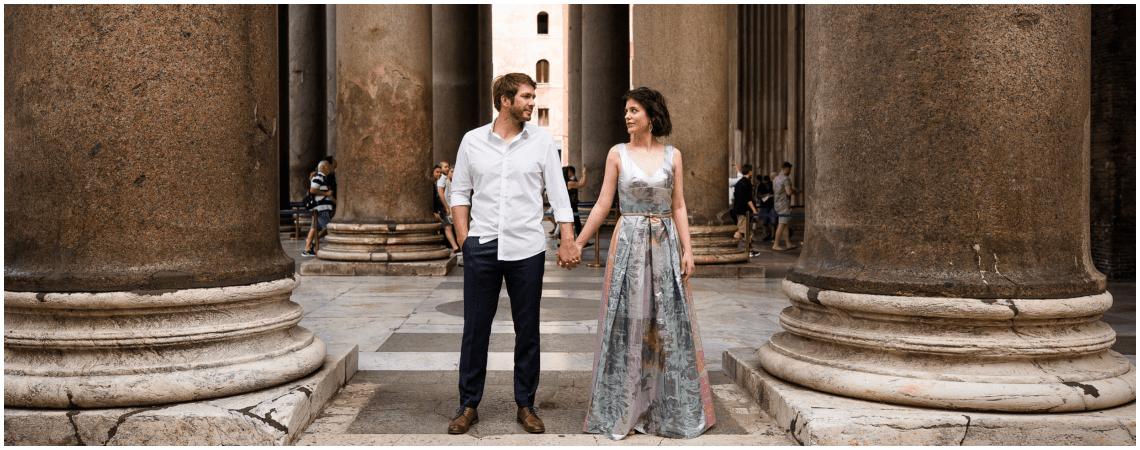 """""""RomAntik"""" – Romantisches After Wedding Shoot in der ewigen Stadt Rom!"""