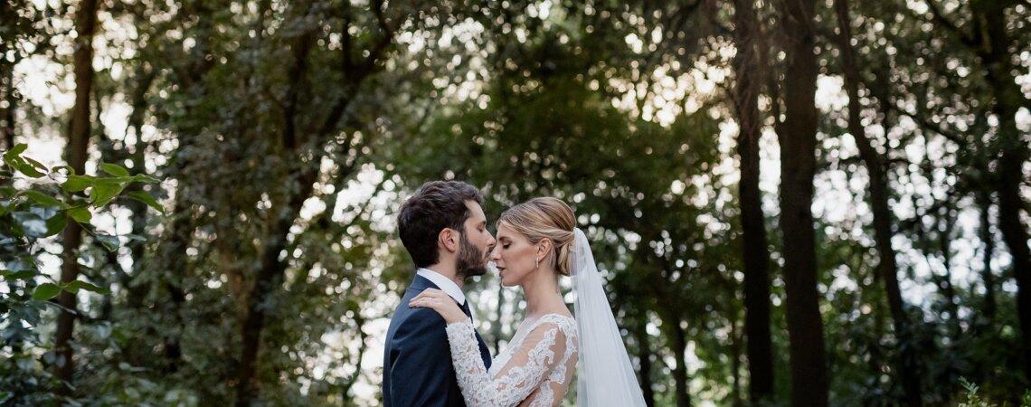 """""""Sei l'anima di ogni cosa intorno, del tempo e dello spazio…"""". Il matrimonio di Alessia e Francesco"""
