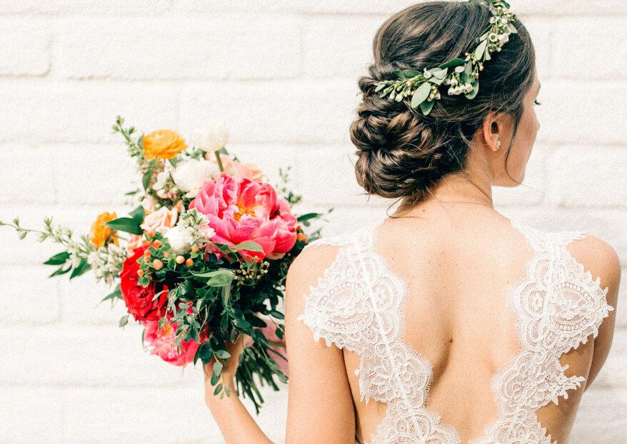 ¿Cómo elegir el moño para tu matrimonio? ¡Acierta con tu peinado!