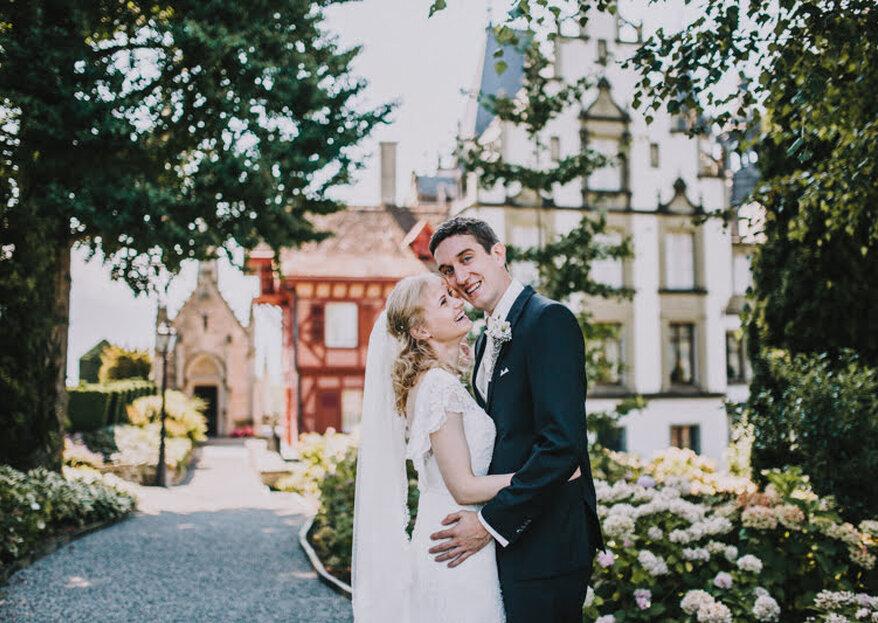 Die interkulturelle DIY-Hochzeit von Elena & Ralf im Schloss Meggenhorn