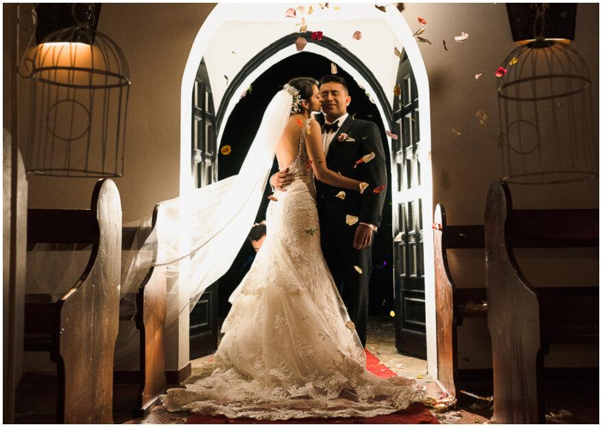 Alejandra y Cristian, la boda que celebró un amor inquebrantable
