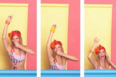 Style et couleur pour le maillot de bain de votre voyage de noces