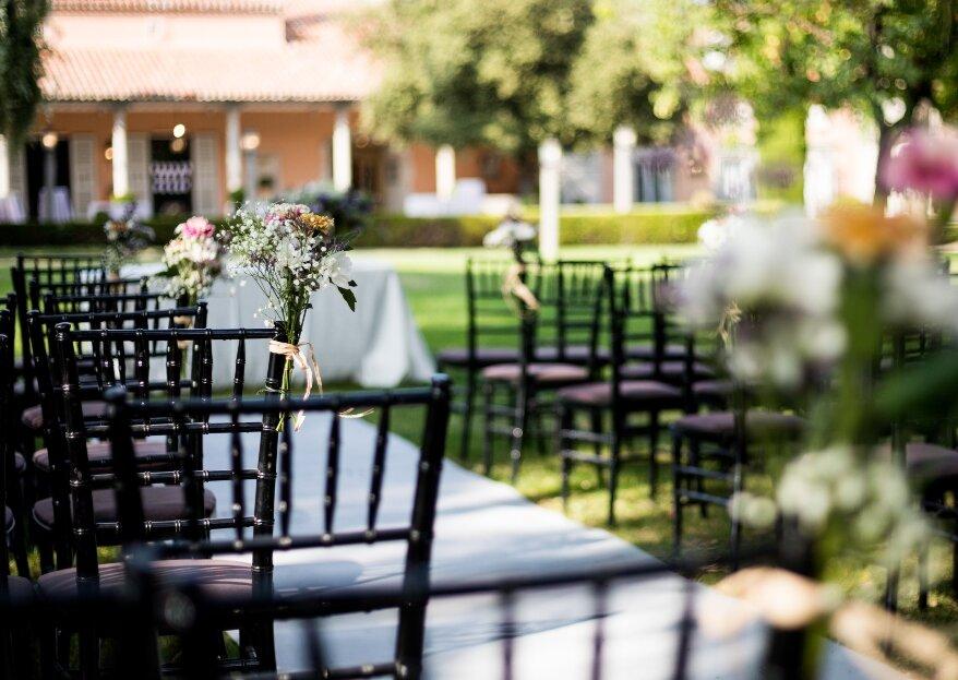 Ceremonias civiles perfectas en las fincas para bodas de Grupo Mónico