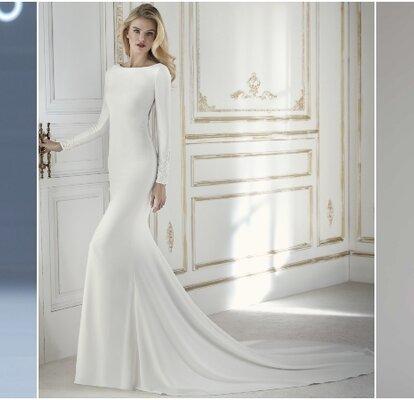 Robes De Mariée Simples Et Tellement Chic à La Fois