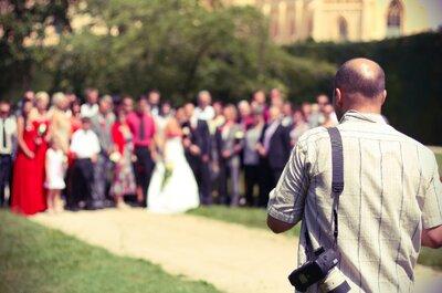 Todo lo que tienes que saber para tener las fotografías de matrimonio perfectas