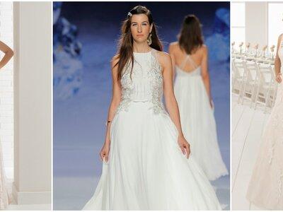 Vestidos de novia para mujeres con mucho busto, ¡diseños para estilizar tu figura!