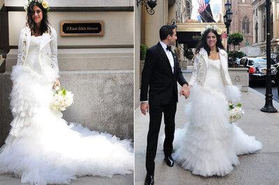 Los 8 vestidos de novia de las fashionistas que querrás llevar