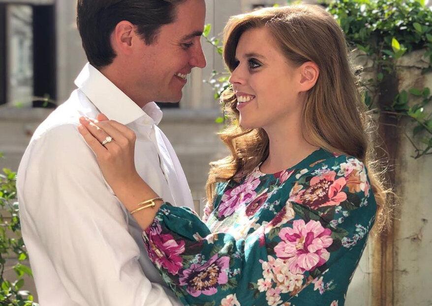 Prepare-se para mais um casamento real: a princesa Beatrice vai subir ao altar no próximo ano!