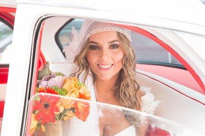 Cómo combinar tu vestido de novia, tu peinado y los accesorios: 5 estilos perfectos para lograrlo