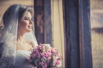 Qué peinado lucir con tu velo de novia: 5 opciones ideales
