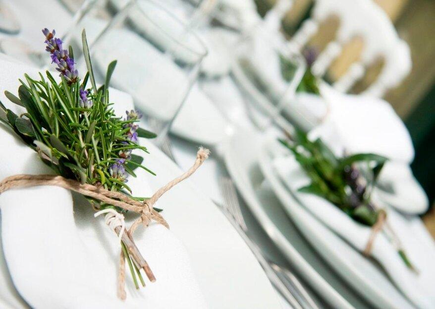 Fuori menù: per il tuo matrimonio meriti un banchetto eccezionale