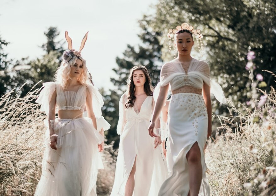 La nueva era de las princesas: 5 novias inspiradas en Disney
