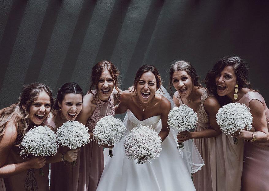 As melhores amigas: 14 reações possíveis ao seu casamento!