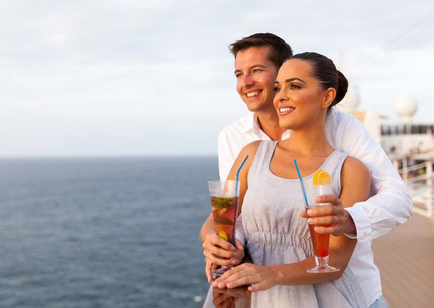 Seis ventajas de tomar un crucero en tu luna de miel