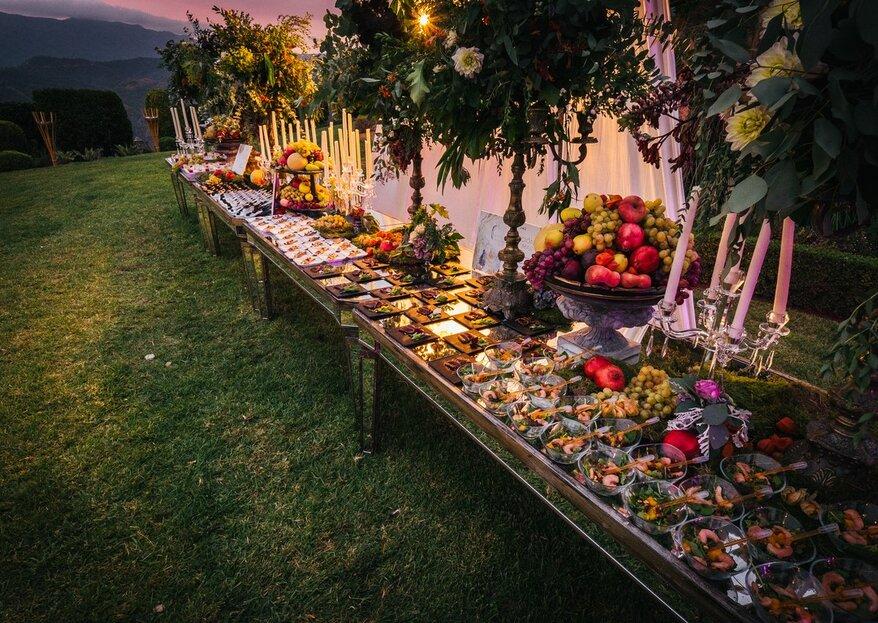 Salduna Catering: todo lo que necesitas para tu boda en la Costa del Sol
