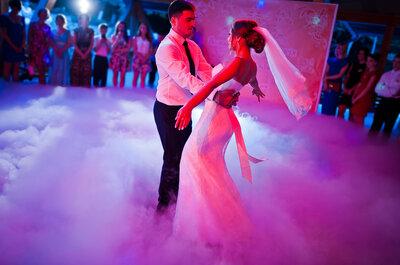 La mejor música y el show perfecto para mi boda: ¡Sí quiero!