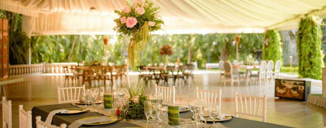 Increíbles locaciones en exterior para celebrar tu boda