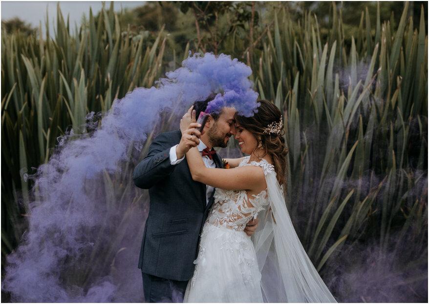 La boda de Aleja y Tatán. ¡En cualquier rincón del mundo, el amor te encuentra!