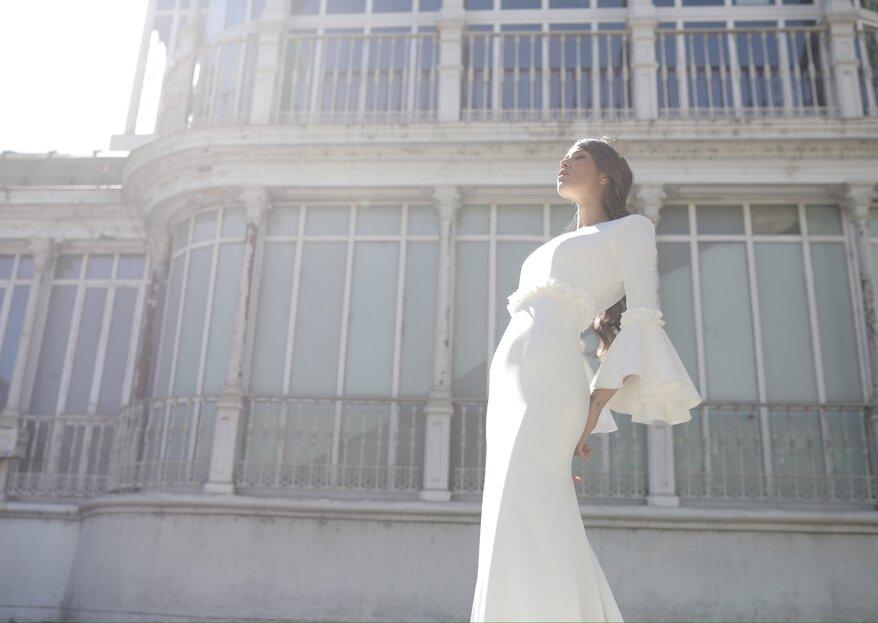 Vestidos de novia flamencos: estilo y aires del sur para tu gran día