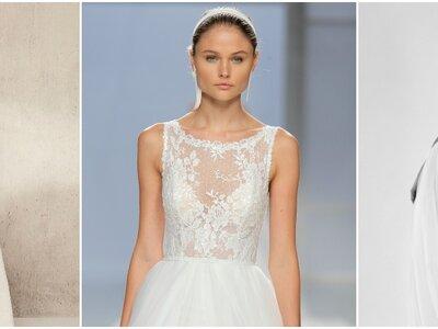 Vestidos de noiva com decote ilusão: encontre o seu favorito!