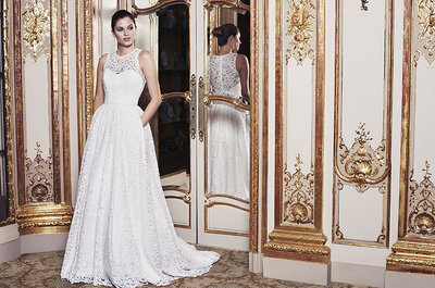 Caroline Castigliano 2016 Collection: Perfect Wedding Dresses from the Luxury Bridal Designer!