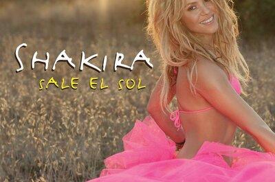 10 canciones románticas de Shakira para bailar el vals de boda