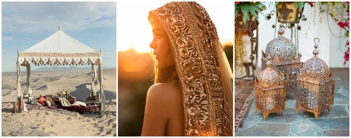 Свадьба в арабском стиле: откройте для себя новый мир