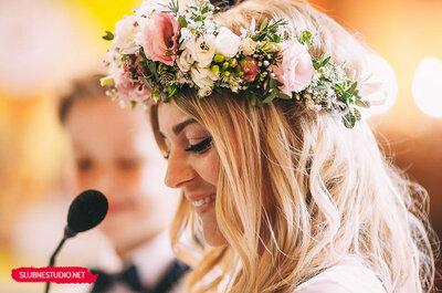 12 porad dotyczących fryzury ślubnej, które musisz znać!